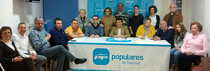Junta directiva PP Daimiel